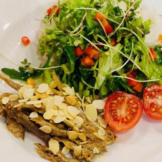 Салат овочевий мікс з гускою