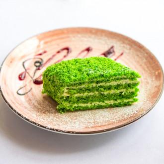 Торт шпинатний