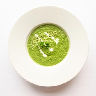 Крем – суп шпинатний